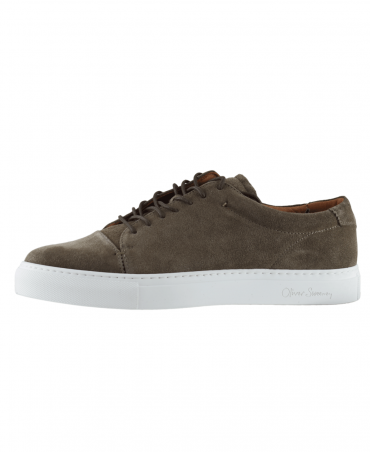 Grey Suede Grandola Trainer