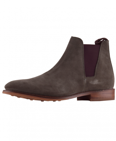 Grey Talland Suede Chelsea Boot