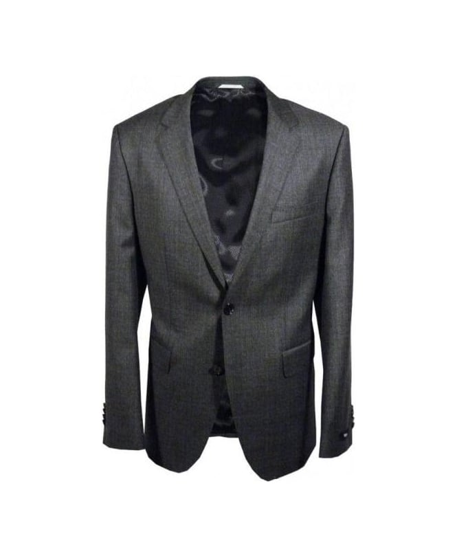 Hugo James Suit Hugo Boss Grey The James