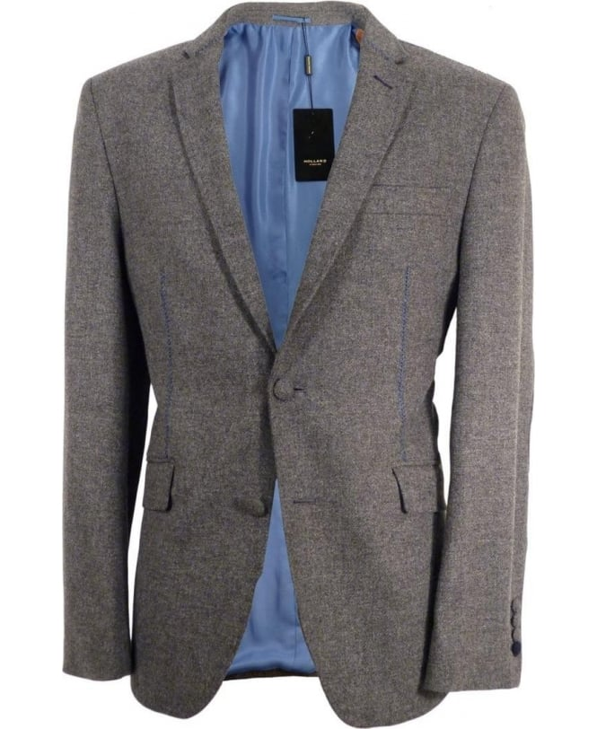 Holland Esquire Grey Trend SB2 Contrast Stitch Jacket