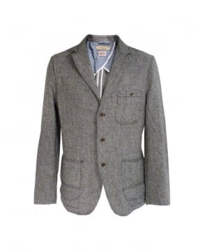 Replay Grey Tweed Sports Jacket