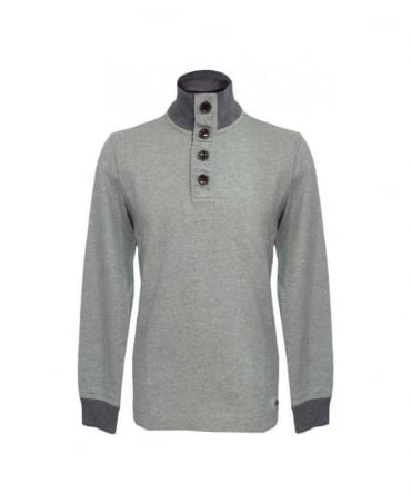 Hugo Boss Grey Whoosh 50248987 Straight Fit Sweatshirt