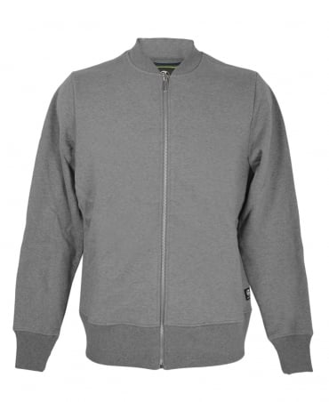 PS By Paul Smith Grey Zip Up Bomber Jacket