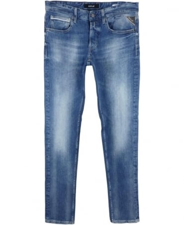 Grover Straight Fit Jeans In Blue