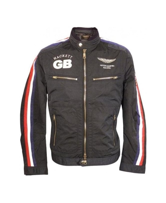 hackett navy aston martin racing jacket outerwear from. Black Bedroom Furniture Sets. Home Design Ideas