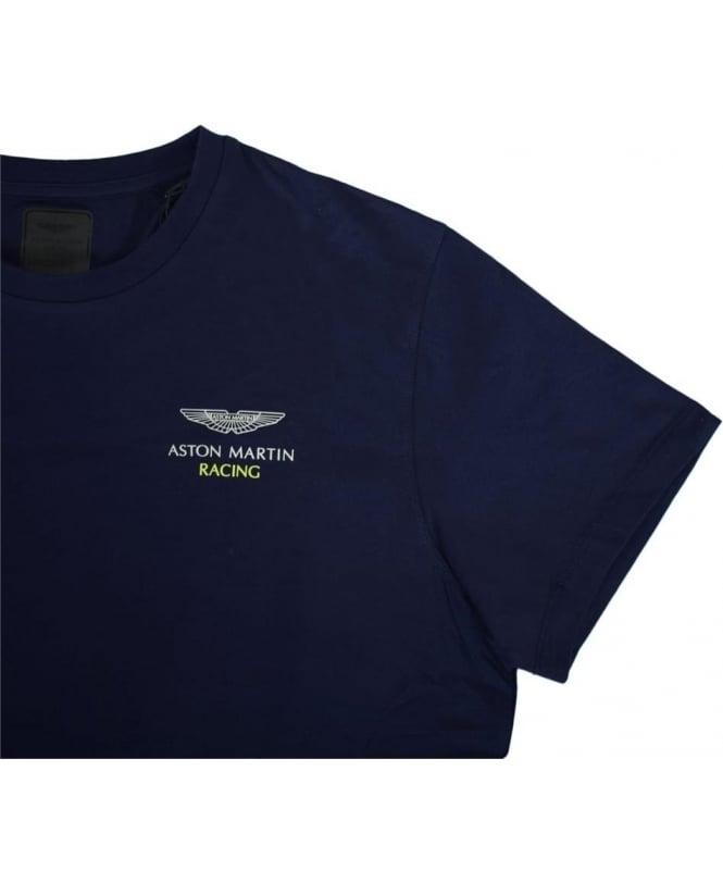 Hackett Navy Aston Martin Racing TShirt Tshirts From Jonathan - Aston martin shirt