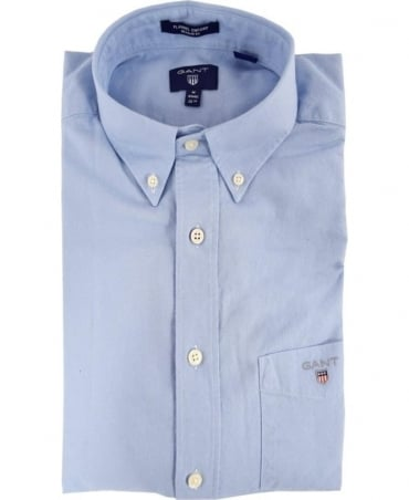 Gant Hamptons Blue 364590 Button Down Collar Shirt