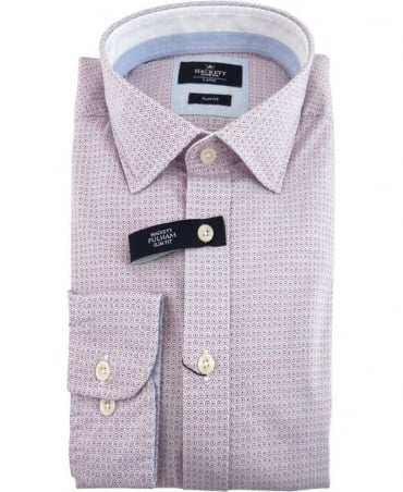 Hackett Havana Circle Print Slim Fit Shirt