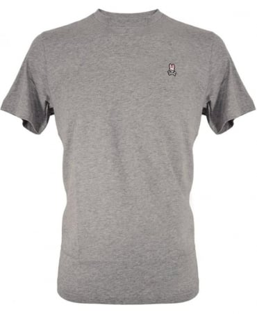 Heather Grey Crew Neck B6U014S7PC T-Shirt