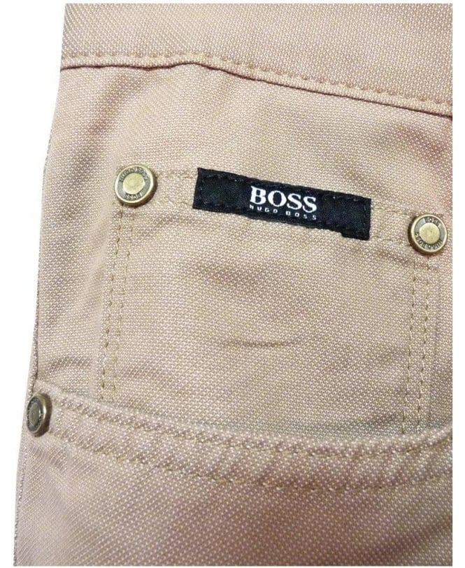 4141b7a378df Boss Beige Maine 1 Regular Fit Jeans - Jeans from Jonathan Trumbull UK