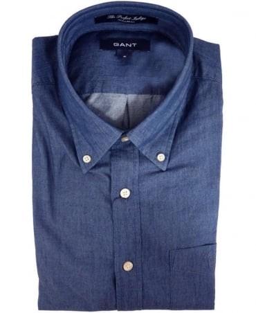 Gant Indigo Blue 342300 The Perfect Indigo Shirt