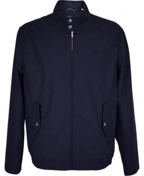 Gant Indigo Blue 'The Poplin Harrington' Blouson