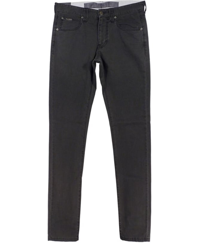 Armani Collezioni J06 Slim Fit Jeans In Black