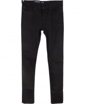 Armani Jeans J06 Slim Fit Jeans In Black