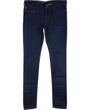 Armani Jeans J06 Slim Fit Jeans In Dark Blue