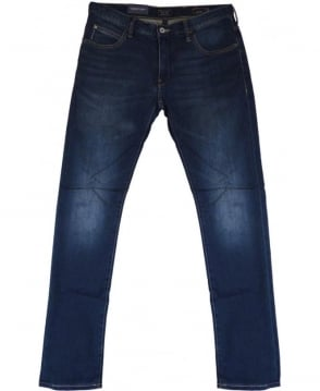 Armani Jeans J10 Extra Slim Fit Jeans In Mid Blue