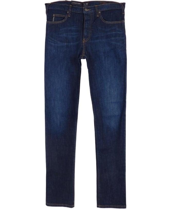 J21 Regular Fit Jeans In Dark Blue