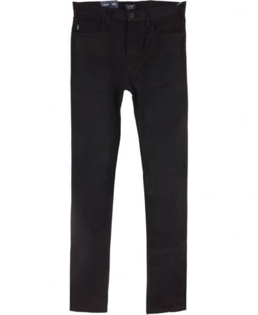 Armani J45 Slim Fit Cotton Jeans in Black