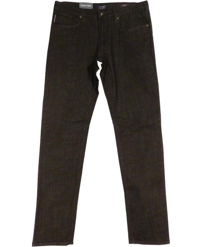 Armani Jeans Black JO6 Slim Fit Jeans