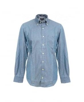 Gant Jeansblue Madison Indigo LS BD Shirt