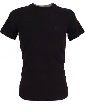 Armani Jersey T-shirt In Black