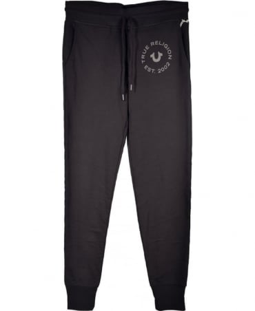 True Religion Jet Black MW7C231K Sweatpant