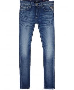 Replay Jondrill Skinny Fit Distressed Jeans