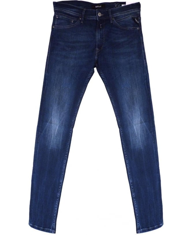 Replay 'Jondrill' Skinny Fit Jeans In Mid Blue