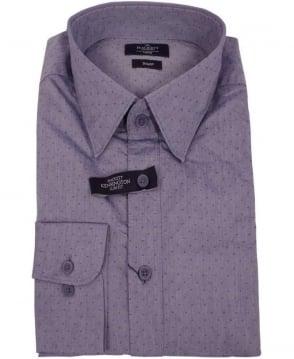 Hackett Kensington Indigo Dobby Shirt