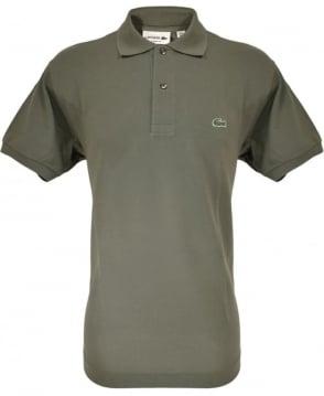 Lacoste Khaki Classic Fit Polo Shirt