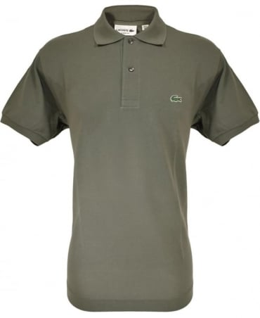 Lacoste Khaki Classic Fit Polo Shirt