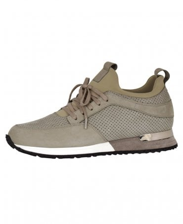 Khaki Contrast Archway Trainer