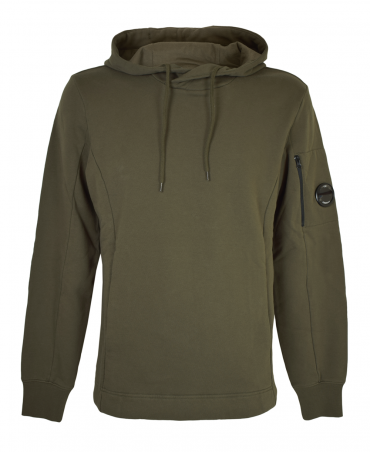 C.P. Company Khaki Green MSS073A Hooded Sweatshirt