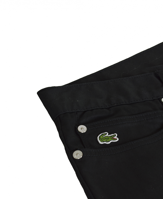 885ee6bbaa77 Lacoste Black HH9058 Stretch Slim Fit Jeans - Jeans from Jonathan ...