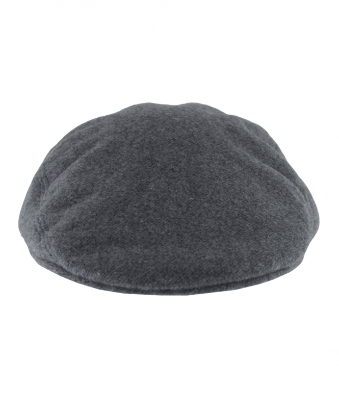 c60fb0b8f0b Grey RK9814 Wool Broadcloth Flat Cap