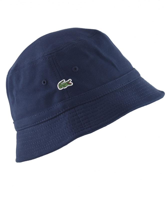 Lacoste Navy RK8490 Bucket Hat - Hats from Jonathan Trumbull UK dbfcc811bf83