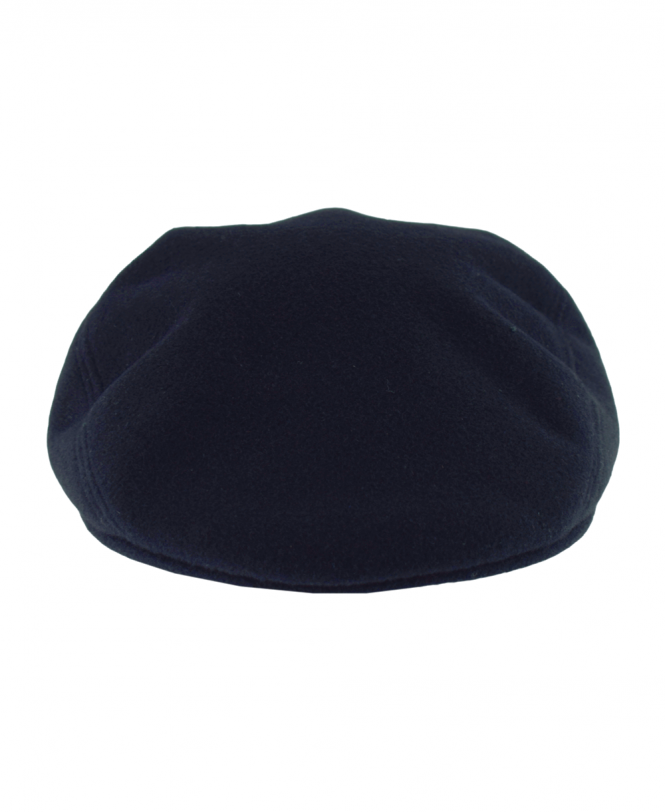 e9be72ad8f1 Navy RK9814 Wool Broadcloth Flat Cap