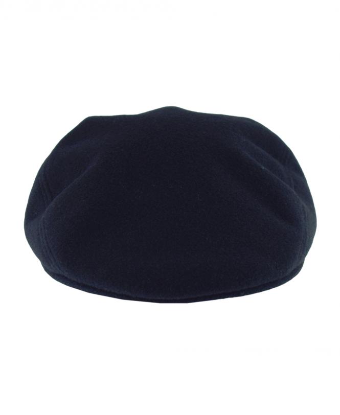 Navy RK9814 Wool Broadcloth Flat Cap 2c8ffd648b0