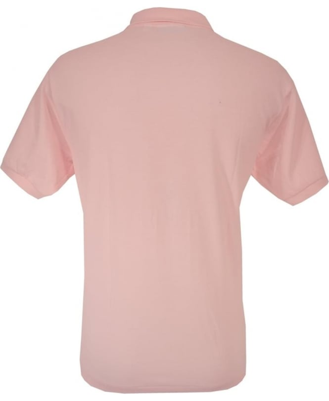 Pink Classic Fit Polo Shirt 12333cf7b1