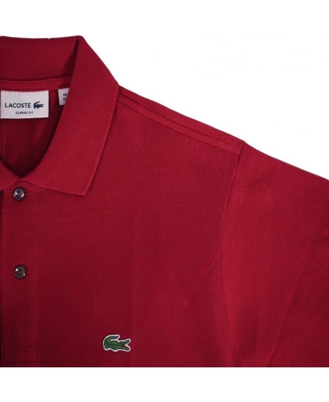 756313f4af Lacoste Red Classic Fit Polo Shirt