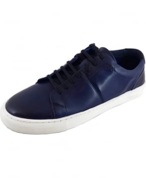 Oliver Sweeney Laine Midnight Leather Trainer