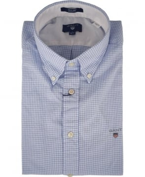 Gant Lavender Blue Tech Prep Check 332130 Shirt
