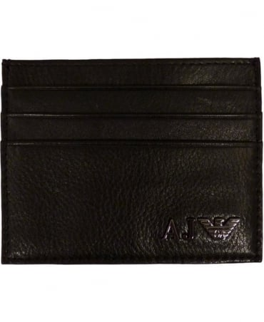 Armani Jeans Leather Credit Card Holder