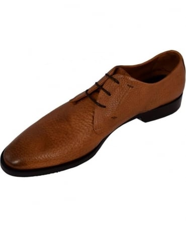 Oliver Sweeney Leather 'Ravelli' Formal Derby Shoe In Tan