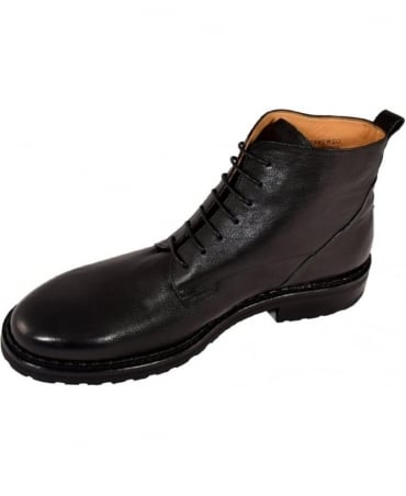 Oliver Sweeney Leather 'Traverso' Boots In Black