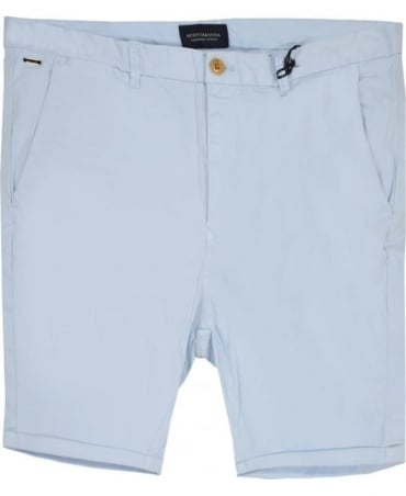 Scotch & Soda Light Blue 13632 Chino Shorts
