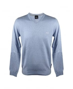 Hugo Boss Light Blue Barnabas Knitwear