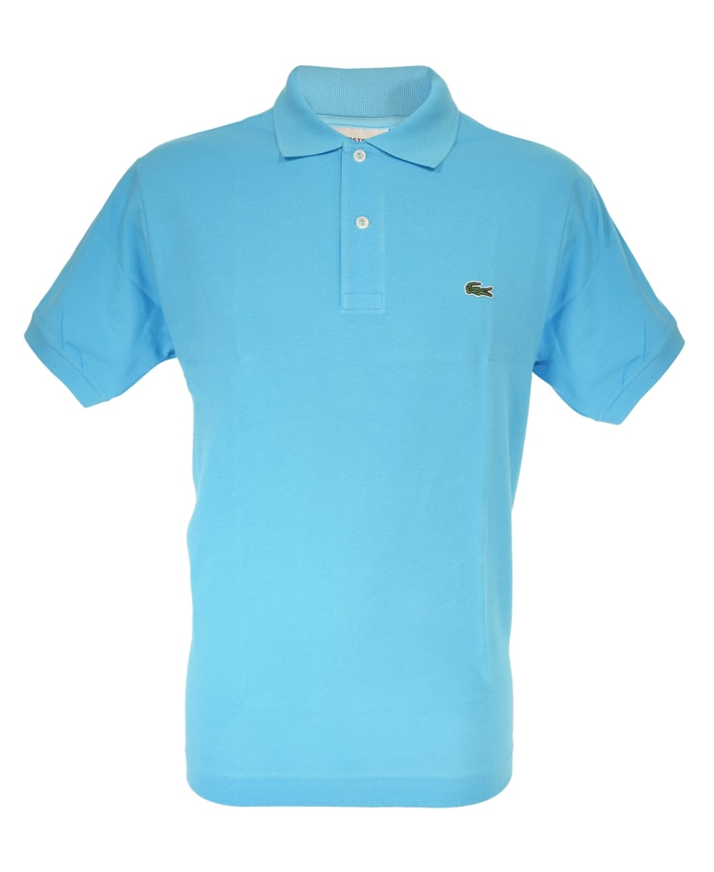 Light Blue Classic Fit Polo Shirt