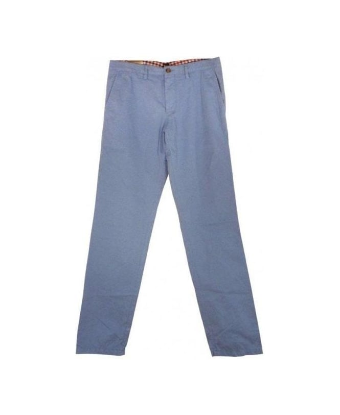 Hugo Boss Light Blue Crigan 1 Chino Trousers