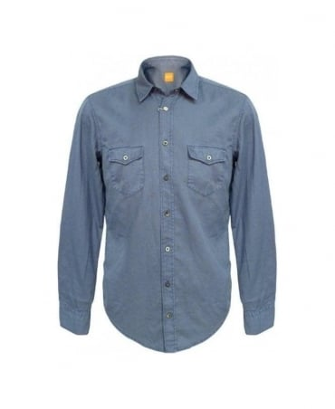 Hugo Boss Light Blue Eddaiee Shirt